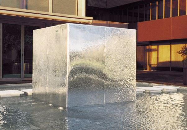 water cube  work william pye water sculpture 602 x 418 · jpeg