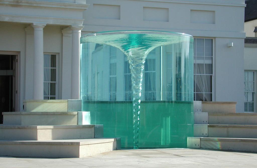 Charybdis Work William Pye Water Sculpture