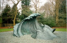 On exhibition in Holland Park in 2000