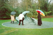In Holland Park, London, in 2000