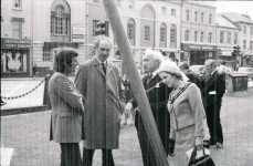 Inauguration in Cardiff 1972