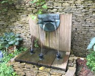 Triple Spout in the garden of the Old Rectory