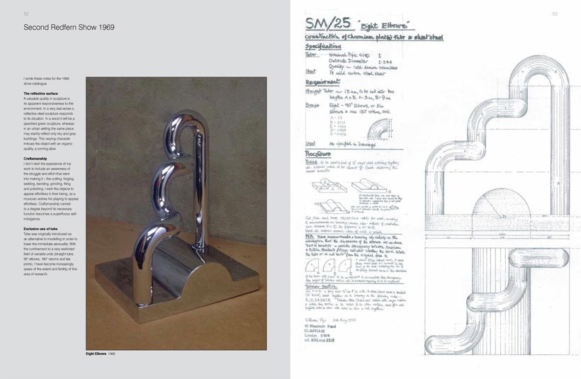 Technical drawings featured in the book