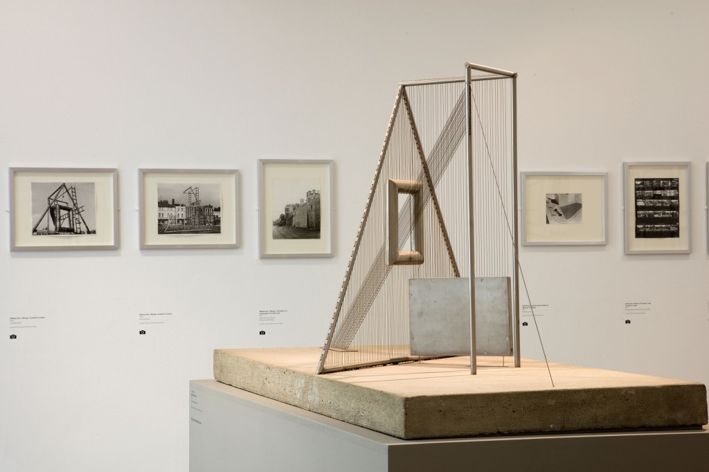 Maquette and images of Mirage at the exhibition