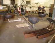The four bowls at Benson-Sedgwick Engineering